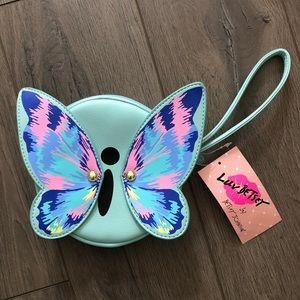 Betsey Johnson Butterfly 🦋 Wristlet Wallet